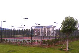 室外网球场