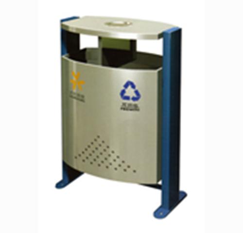 钢板喷塑垃圾桶产品